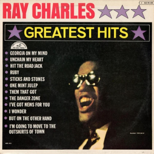 Greatest Hits (album) by Ray Charles : Best Ever Albums