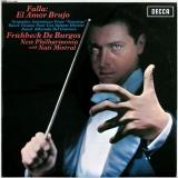 """Falla: El Amor Brujo / Granados: Intermezzo From """"Goyescas"""" / Ravel: Pavane Pour Une Infante Défunte; Alborada Del Gracioso"""