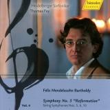 Mendelssohn: Symphony No. 5; String Symphonies Nos. 5, 6 & 10