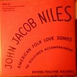 American Folk Love Songs To Dulcimer Accompaniment