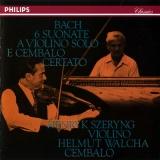 J.S. Bach: 6 Suonate A Violino Solo E Cembalo Certato